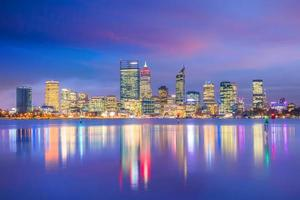 Downtown Perth skyline in Australia photo