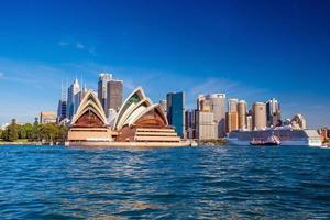 Downtown Sydney skyline photo