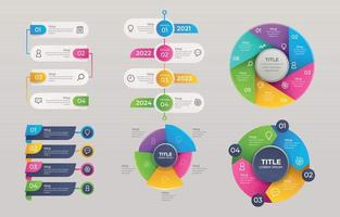 Set of Infographic Element vector