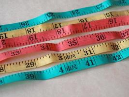 Tailor tape ruler in Cun Chinese Inch photo