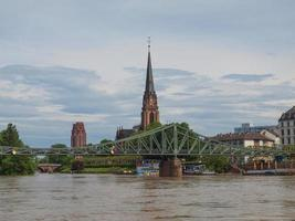 vista de Frankfurt, Alemania foto