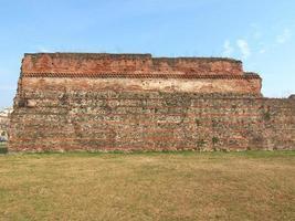 muralla romana, turín foto