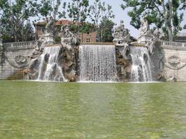 Twelve Mounts Fountain in Turin photo