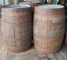 Barrel cask for wine or beer photo