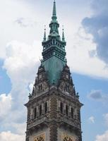 Ayuntamiento de Hamburgo Rathaus foto