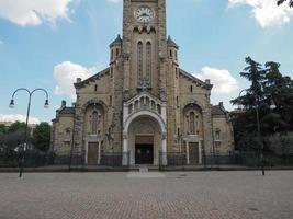 Santa Rita da Cascia church in Turin photo