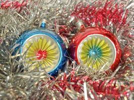 adorno navideño y oropel foto