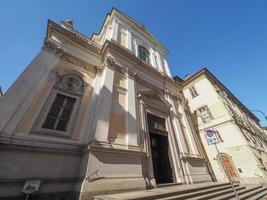 Del Carmine church in Turin photo