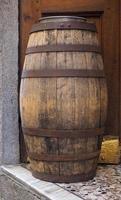 Barrel cask for wine photo