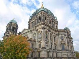 Catedral de Berlín en Berlín. foto