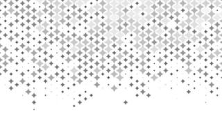 Light Silver, Gray vector background with colored stars.