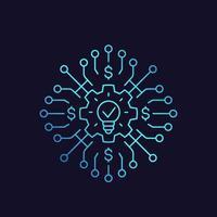 venture capital fund vector illustration