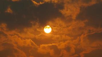 Sunrise and sunset timelapse high definition footage on golden hour. video