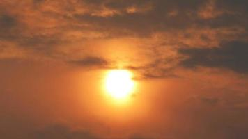 Sunrise and sunset timelapse high definition footage on golden hour. T video
