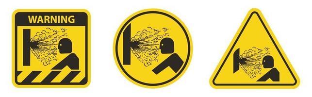 Explosion Release of Pressure Symbol Sign vector