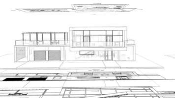 Modern Home Architectural Drawings video