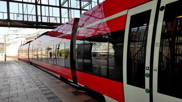 movimiento de trenes en berlín video