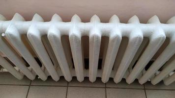 Indoor heating radiator photo