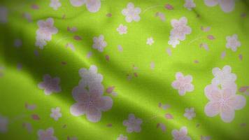 motif floral video