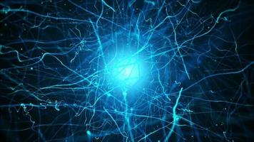 Electric Neurons Background video