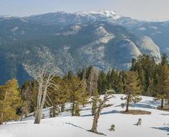 Sentinel Dome, Yosemite National Park, California, USA photo
