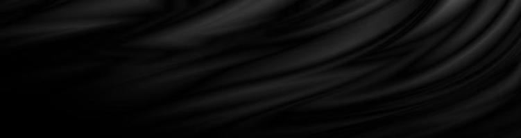 Black fabric background 3D illustration photo