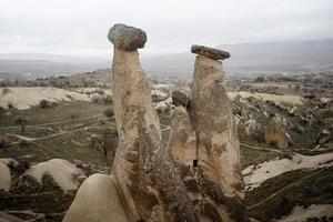 Natural Stones Resulting from Volcanic Explosion photo
