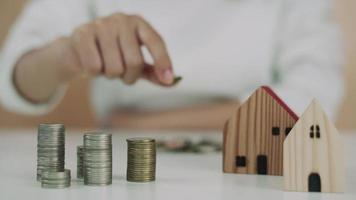 Save money to build future in the family. video