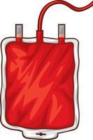 Blood Bag Design vector