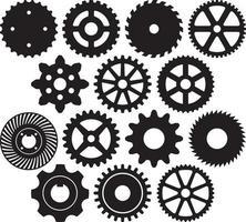 Gear Collection Set vector