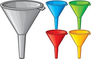 Funnel Collection Set vector