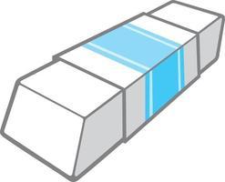 diseño de icono de borrador vector