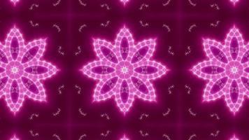 Blinking Pink Light Kaleidoscope video