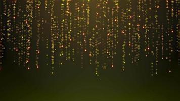 abstracte dynamische achtergrond met deeltjes video