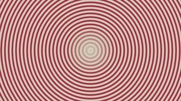 tunnel av röda och vita cirklar video