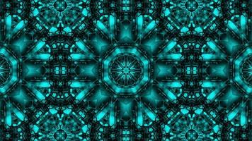 abstrakt kalejdoskop bakgrund. video