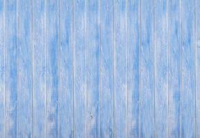 Textura de fondo de madera azul claro. foto