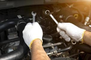 Car man mechanic photo
