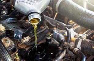 cambia el aceite foto