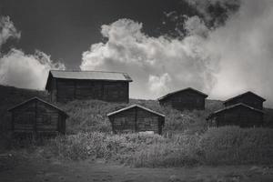Turkey, Rize, Sal Plateau - Plateau Houses Landscape photo