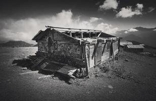 Turkey, Rize, Sal Plateau - Old Rundown House photo