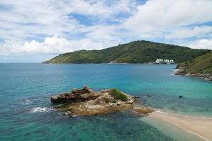 High angle view Tropical sea photo
