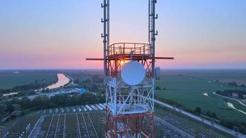Antennas Telecommunication Cell Phone video
