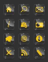 icono de vector para web.