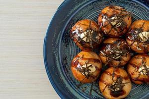 bolas de takoyaki o bolas de pulpo foto