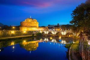Castillo de San Ángel en Roma, Italia foto