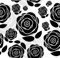 Fondo floral de patrones sin fisuras para bodas y cumpleaños. vector