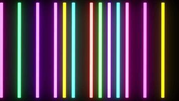 fond coloré néon video