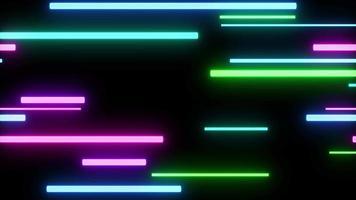 fondo colorido láser de neón video