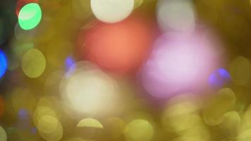 Christmas abstract bokeh background video